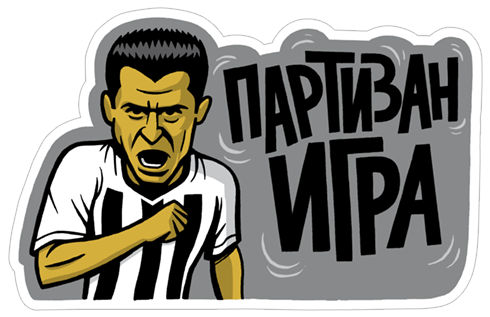 FK Partizan - Official Sticker Pack stickers