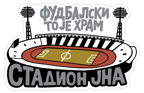 Cтикер «FK Partizan - Official Sticker Pack» #8