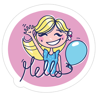 Glamour Girl stickers