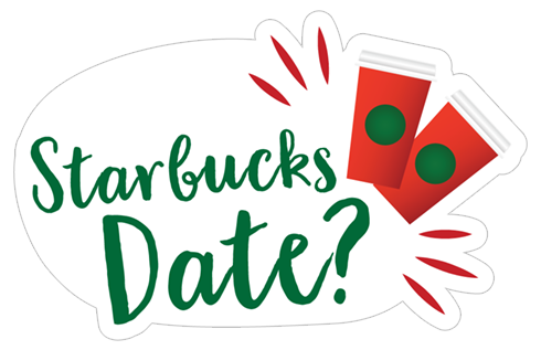Starbucks Holiday Stickers stickers