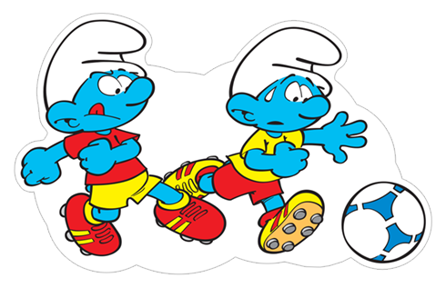 The Soccer Smurfs stickers