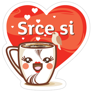 «Grand kafa šoljice» sticker #13