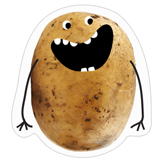 A Pack of Potatoes stickers
