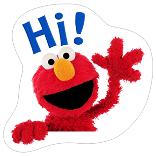 Fun with Elmo Stickers stickers