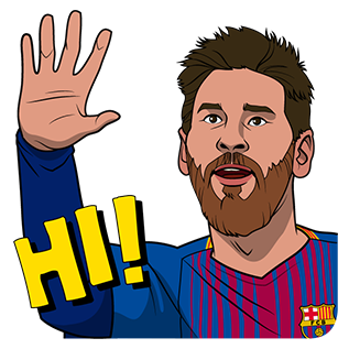 FC Barcelona 2017/18 stickers