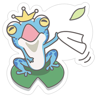 Hungry Frogs Official Stickers stickers