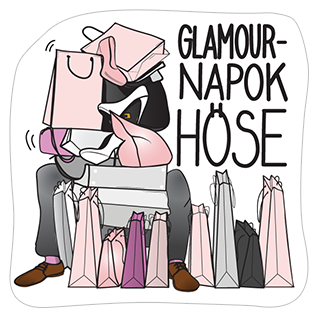 Стикеры Shopping by GLAMOUR