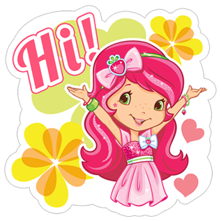 Strawberry Shortcake stickers