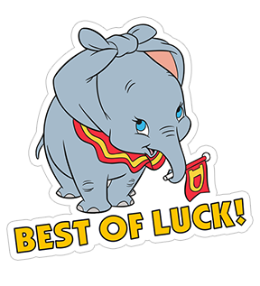 «Dumbo» sticker #3