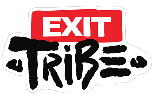 EXIT Tribe 2019 stickers