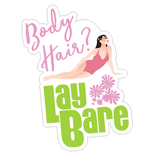 Lay Bare Waxing Salon stickers