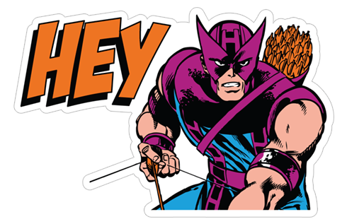 Marvel Heroes stickers