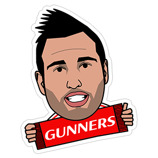Arsenal stickers