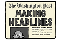 Стикер The Washington Post 17