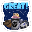 Ice Age: Collision Course sticker 5