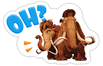 Ice Age: Collision Course sticker 7