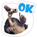 Ice Age: Collision Course sticker 13