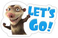 Ice Age: Collision Course sticker 22