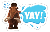 Ice Age: Collision Course sticker 23