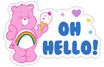 Care Bears sticker 1