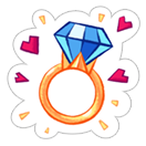 King of Thieves Love sticker 9