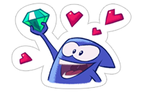 King of Thieves Love sticker 11