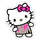 Hello Kitty Halloween sticker 4