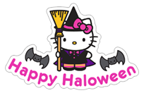 Hello Kitty Halloween sticker 6