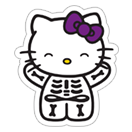 Hello Kitty Halloween sticker 9