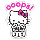 Hello Kitty Halloween sticker 13