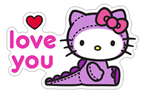 Hello Kitty Halloween sticker 16