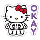 Hello Kitty Halloween sticker 18