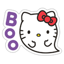 Hello Kitty Halloween sticker 20