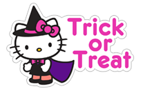 Hello Kitty Halloween sticker 23