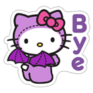 Hello Kitty Halloween sticker 24