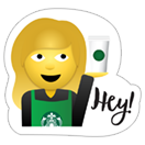 Starbucks Holiday Stickers sticker 2