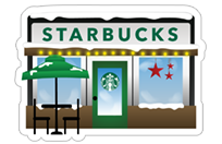 Starbucks Holiday Stickers sticker 4
