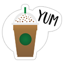 Starbucks Holiday Stickers sticker 6