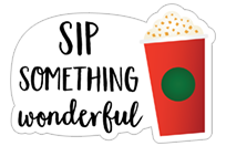 Starbucks Holiday Stickers sticker 9