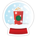 Starbucks Holiday Stickers sticker 11