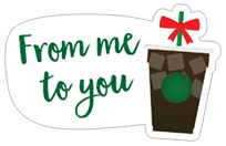 Starbucks Holiday Stickers sticker 12