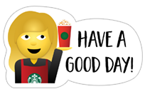 Starbucks Holiday Stickers sticker 13