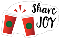 Starbucks Holiday Stickers sticker 20