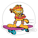 Garfield Gets Sporty sticker 13