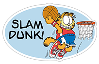 Garfield Gets Sporty sticker 16