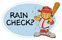 Garfield Gets Sporty sticker 22