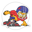 Garfield Gets Sporty sticker 23