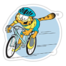 Garfield Gets Sporty sticker 33