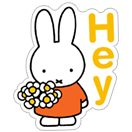 Miffy sticker 1
