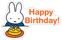 Miffy sticker 11